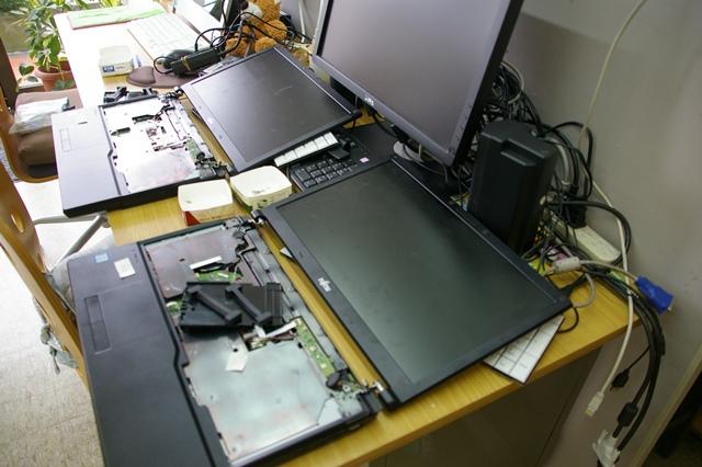 LIFEBOOK A577/S HDDをSSDに換装